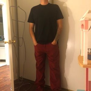 36x34 514 Levi's corduroy red pants